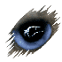 StormKatt Productions lightning eye icon