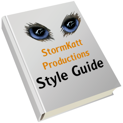 A style guide can help save you from arguements!